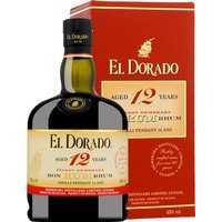 El Dorado Rum 12 Jahre in Gp   – Rum – Demerara Distillers, Guyana, trocken, 0,7l