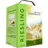 A. Steinbach Riesling 3,0L Bag in Box   – Weisswein, Deutschland, trocken, 3l