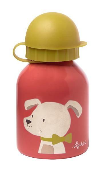 Sigikid Trinkflasche 0,25 l Hund Edelstahl