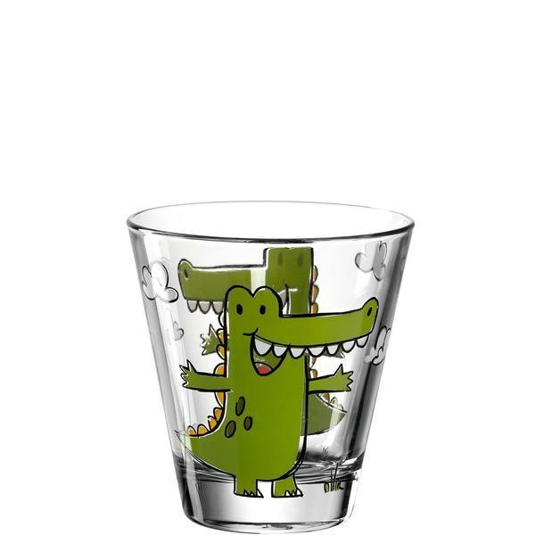 Leonardo Becher 215 ml Bambini Krokodil