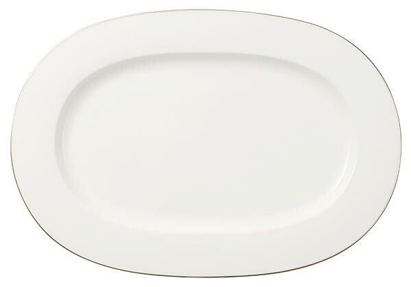 Villeroy & Boch Platte 41 cm oval Anmut Platinum No. 1