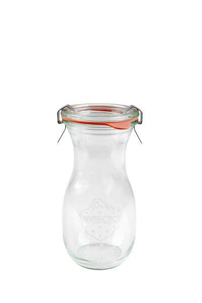 Weck Saftflasche Durchmesser 60mm Inhalt 290ml Höhe 140mm