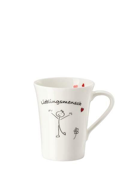 Hutschenreuther Becher mit Henkel My Mug Wort-Lieblingsmensch