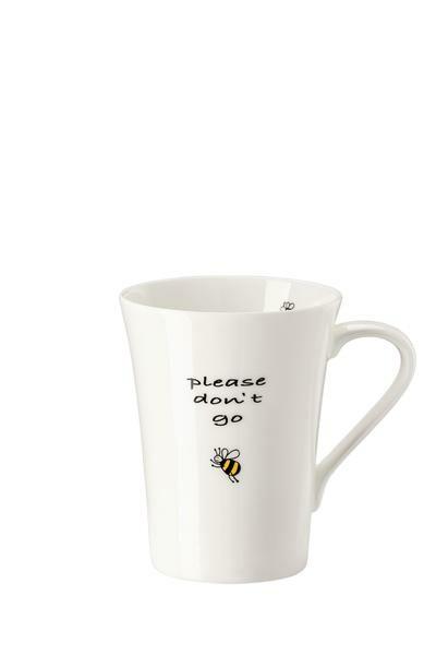 Hutschenreuther Becher mit Henkel My Mug Bees Don't go