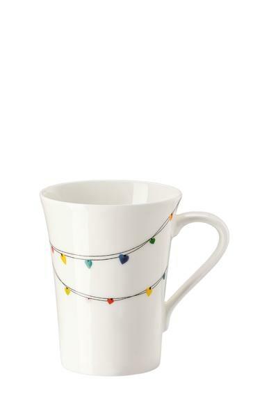 Hutschenreuther Becher mit Henkel My Mug Love Garland