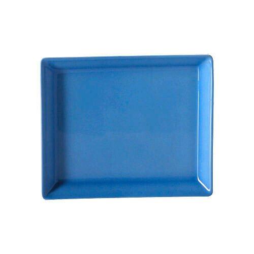 Arzberg Servierplatte 15 cm x 12 cm eckig Tric Blau blau