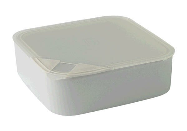 Arzberg Schale quad.m. Deckel 18 cm Küchenfreunde Kunststoff transparent