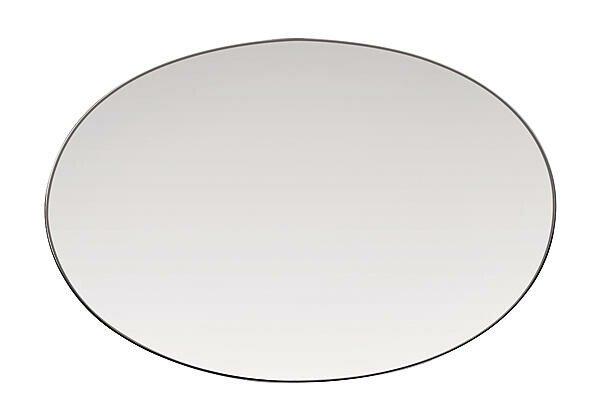 Rosenthal Platte 25,0 cm x 17,0 cm TAC Platin oval