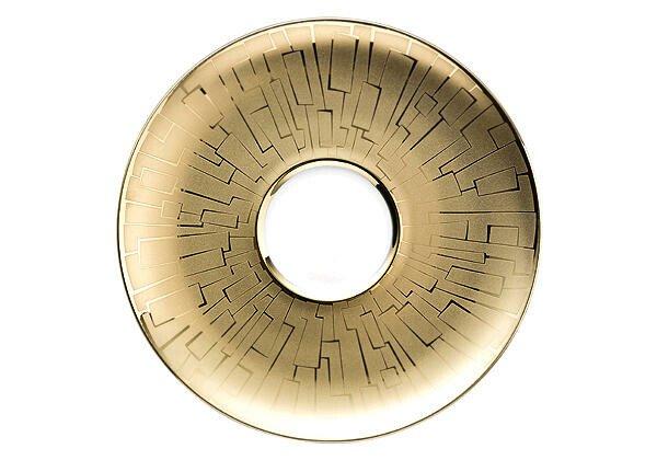 Rosenthal Teeuntertasse 16 cm TAC Skin Gold