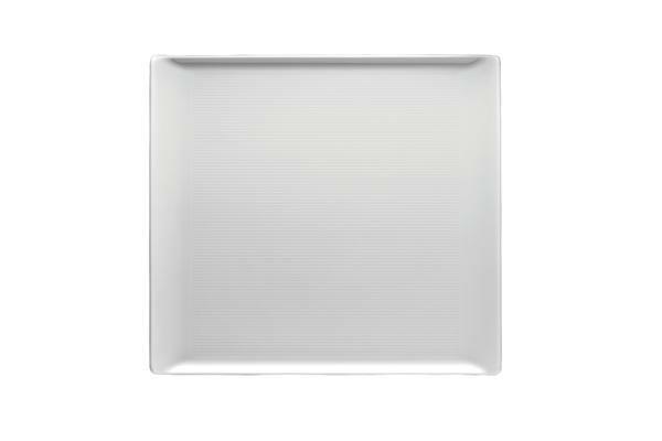 Thomas Platte 26 cm x 24 cm flach Loft Weiß