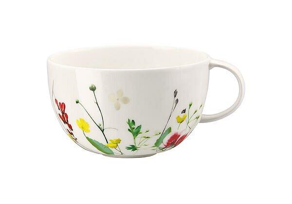 Rosenthal Tee- und Cappuccinotasse 0,25 l Brillance Fleurs Sauvages