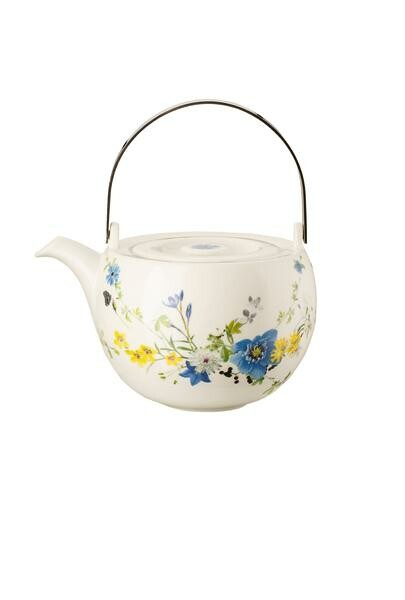 Rosenthal Teekanne 3 teilig Brillance Fleurs des Alpes