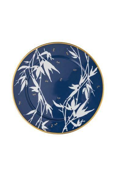 Rosenthal Platzteller 33 cm Heritage Turandot blue