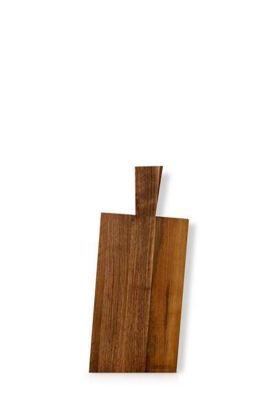 Continenta Schneidebrett 39×17 cm Walnuss