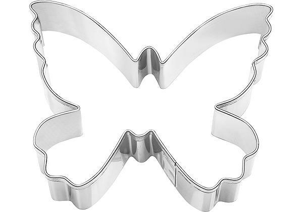 RBV Birkmann Ausstecher Schmetterling 7 cm