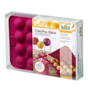 RBV Birkmann Backform CakePop Baker 20-fach Silikon