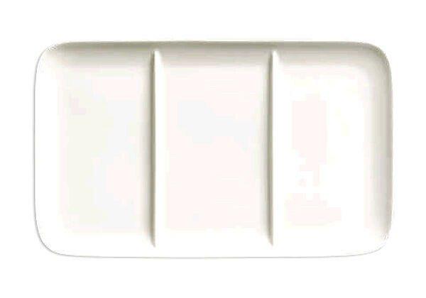 Dibbern Welcome-Plate 15×23 cm Bone China Pure