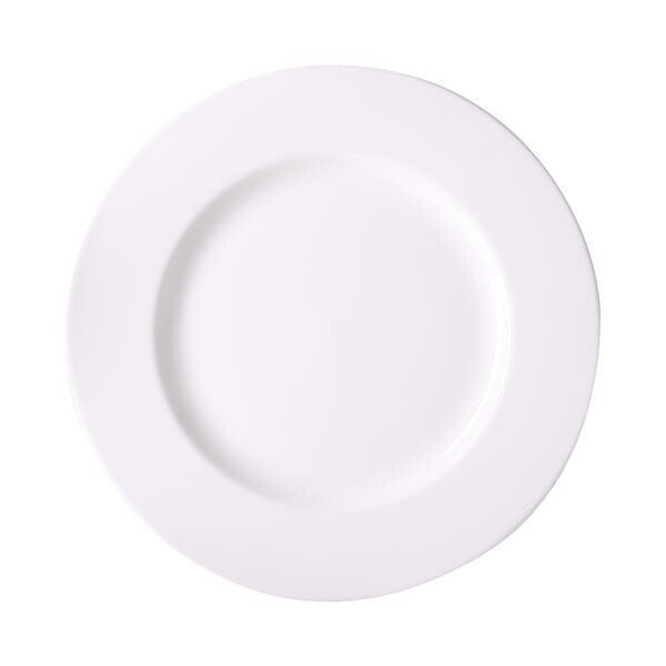 Dibbern Teller 26.5 cm Bone China Weiß
