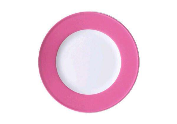 Dibbern Teller 21cm Fahne Solid Color pink