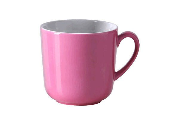 Dibbern Henkelbecher 0,32 l Solid Color pink