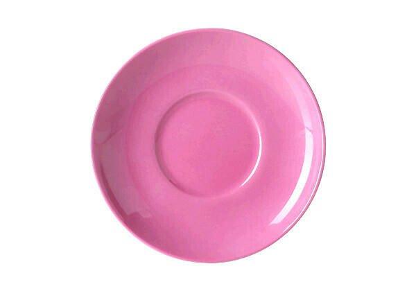 Dibbern Untertasse 0,25 l Solid Color pink