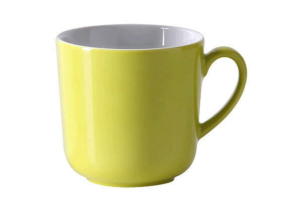 Dibbern Becher 320 ml Solid Color Limone rund