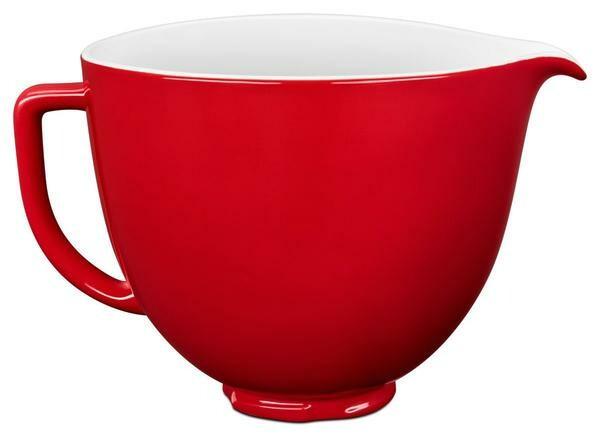 KitchenAid Keramikschüssel 4,83l empire rot