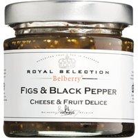 Belberry Figs & Black Pepper 130g   – Saucen, Pesto & Chutneys, Belgien, 0.1300 kg