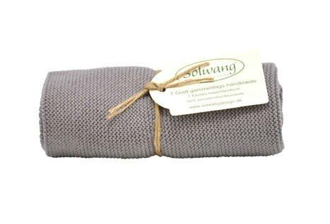 Solwang Handtuch warmes grau