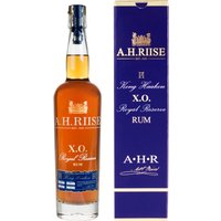 A. H. Riise Kong Haakon X.O. Royal Reserve Rum in Gp   - Rum