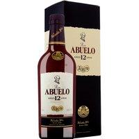 Ron Abuelo Añejo 12 Jahre in Gp   – Rum – Varela Hermanos, Panama, trocken, 0,7l