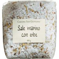 Cascina San Giovanni Sale marino con erbe – Meersalz aus Sizilien…, Italien, 0.4000 kg