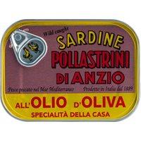 Sardine Pollastrini di Anzio all'olio d'oliva – Sardinen in Olive…, Italien, 0.1000 kg