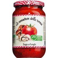 Le Conserve della Nonna Sugo ai funghi – Tomatensauce mit Pilzen …, Italien, 0.3700 l