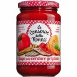 Le Conserve della Nonna Sugo alle verdure grigliate - Tomatensauc...