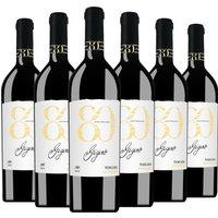 6er Aktion Barbanera Gigino 80 Anniversario Toscana 2016 – Rotwein, Italien, trocken, 4.5000 l