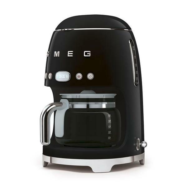 smeg Filter-Kaffeemaschine 50's Style schwarz