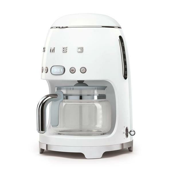 smeg Filter-Kaffeemaschine 50's Style weiß