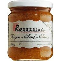 Barbieri & C. Feigen-Senf-Sauce 212ml   – Saucen, Pesto & Chutneys, Italien, 0.2120 l