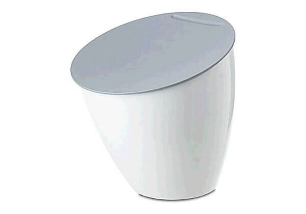 Mepal Abfallbehälter Calypso weiß