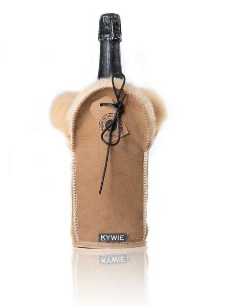 Kywie Champagnerkühler Camel Wildleder