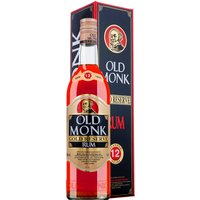 Old Monk Rum Gold Reserve 12 Jahre in Gp   - Rum - Mohan Meakin