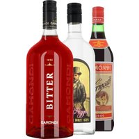 Classic Cocktails Paket – Negroni   – Stay Home – Toso, Italien, trocken, 3l