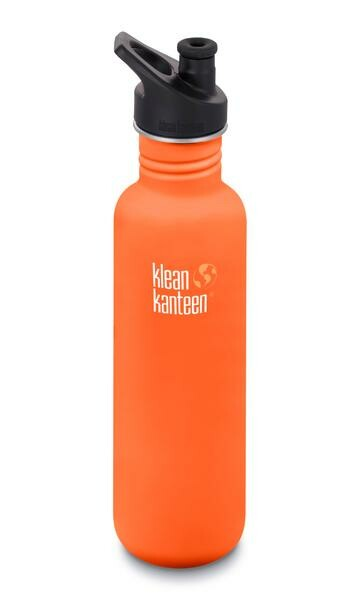 klean kanteen Trinkflasche 0,8 l Classic Orange matt