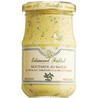 Edmond Fallot Moutarde au Basilic – Dijon-Senf mit Weißwein und …, Frankreich, 0.2050 kg