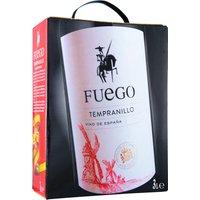 Fuego Tempranillo 3,0L Bag in Box   – Rotwein, Spanien, trocken, 3l