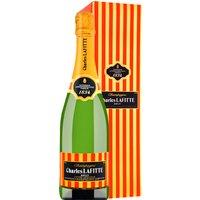 Champagner Charles Lafitte Cuvée Spéciale  Brut mit Geschenkver…, Frankreich, trocken, 0,75l