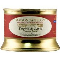 "Maison Papillon Terrine de Lapin ""Tomate & Basilic"" Terrine vom K…, Frankreich, 0.1000 kg"