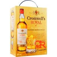 Cromwell's Royal Scotch Whisky 3,0L Bag in Box   – Whisky, Schottland, trocken, 3l