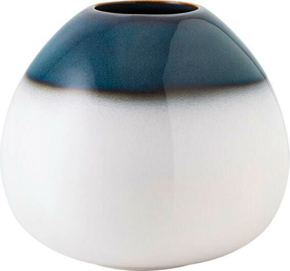 Villeroy & Boch Vase Egg Shape blau klein